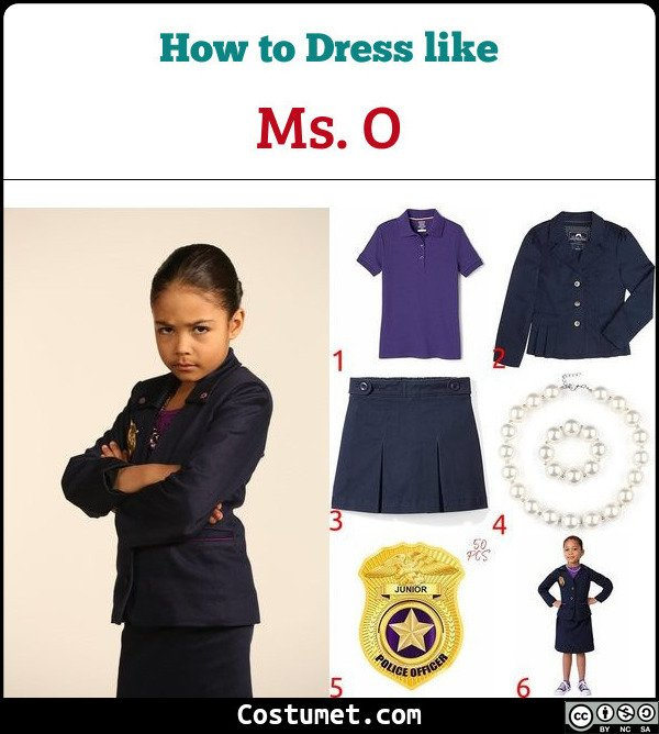 Ms. O  Odd Squad Costume for Cosplay & Halloween