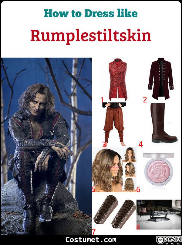 Rumplestiltskin Costume for Cosplay & Halloween