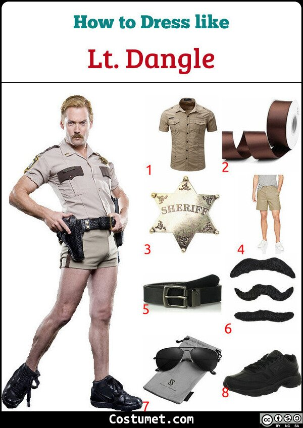Lt. Dangle Costume for Cosplay & Halloween