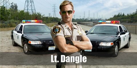 Lt Dangle (Reno 911!) Costume
