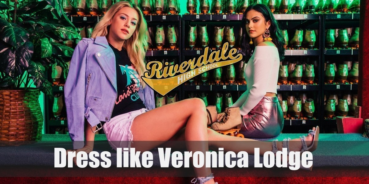 Veronica Lodge Costume Riverdale Costume Skirt and blouse