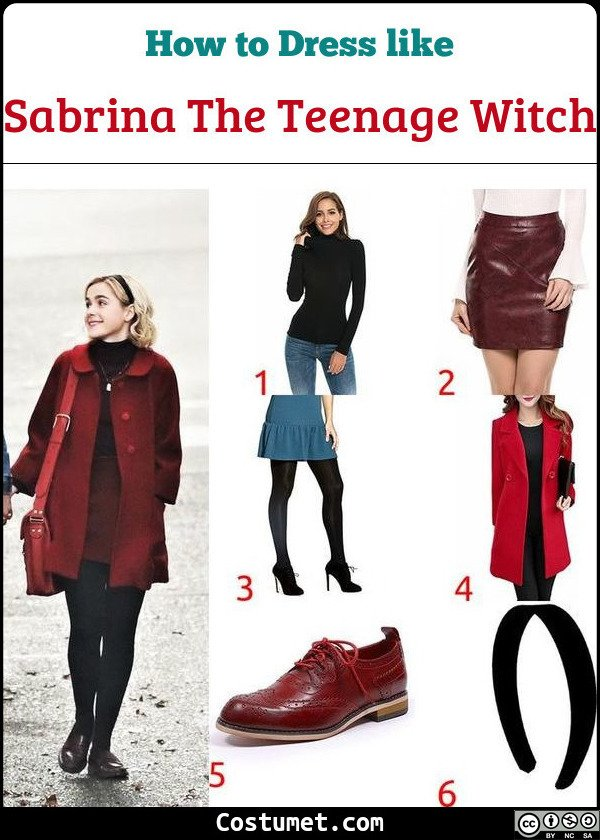 Sabrina The Teenage Witch Costume for Cosplay & Halloween