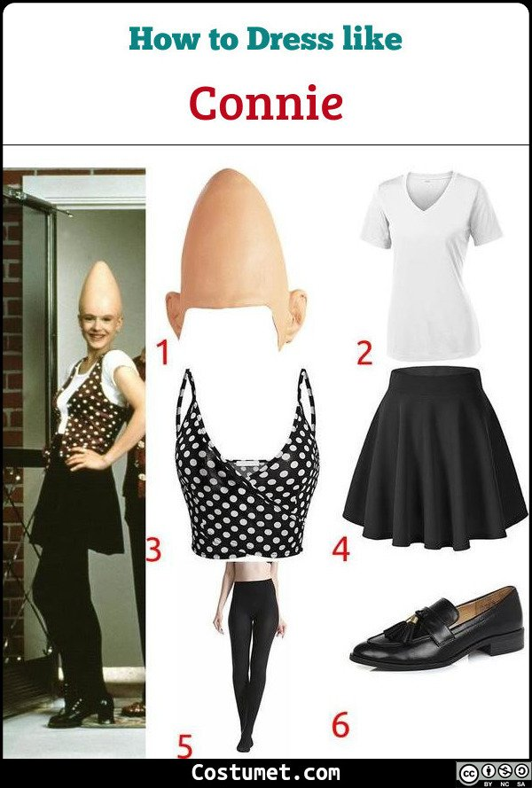 Connie Coneheads Costume for Cosplay & Halloween