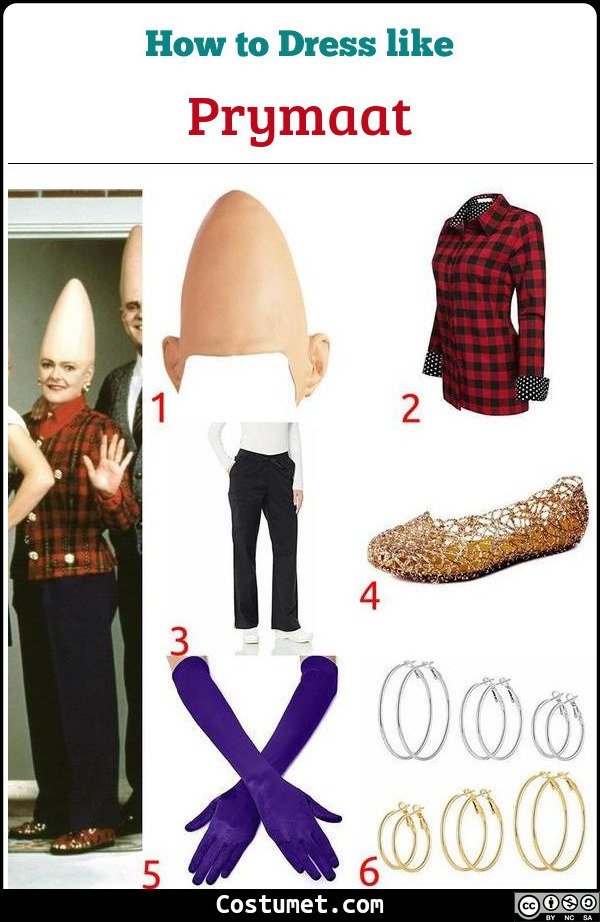 Prymaat Coneheads Costume for Cosplay & Halloween