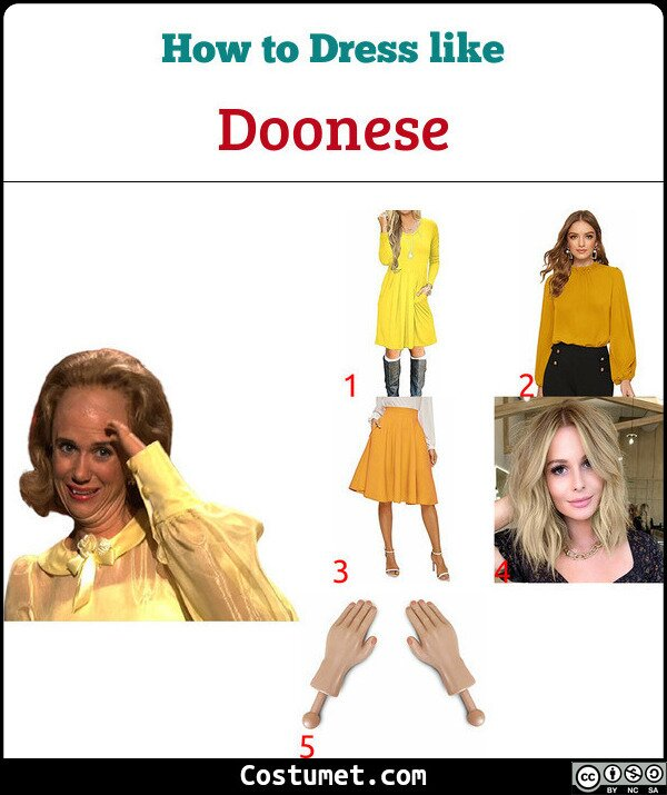 Doonese Costume for Cosplay & Halloween