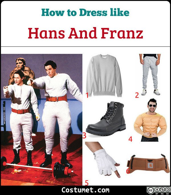 Hans And Franz Costume for Cosplay & Halloween