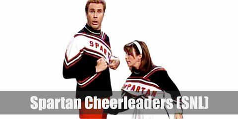 The Spartan Cheerleaders (SNL) Costume