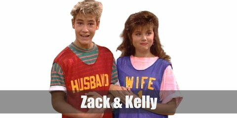 Zack & Kelly (Saved by the Bell) Costume