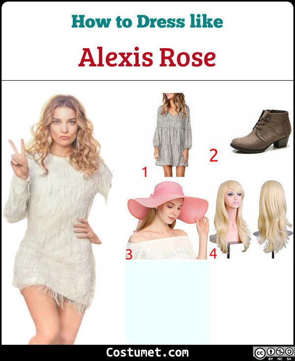 Alexis Rose Costume for Cosplay & Halloween