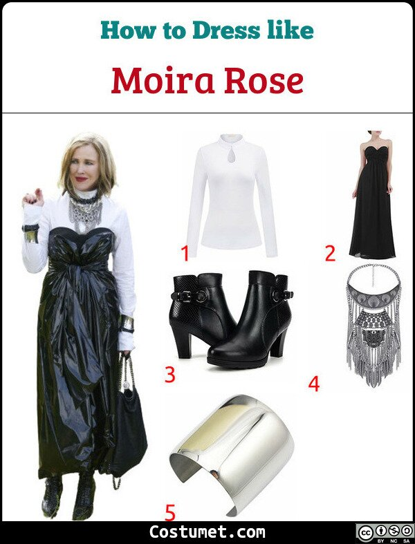 Moira Rose Costume for Cosplay & Halloween