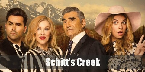 Moira, David, Alexis & Johnny Rose (Schitt's Creek) Costume