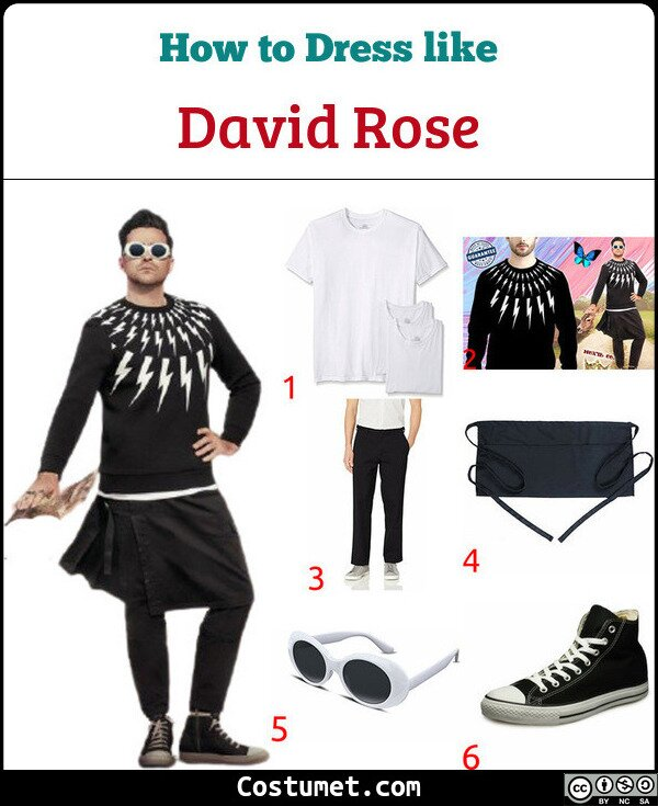 David Rose Costume for Cosplay & Halloween