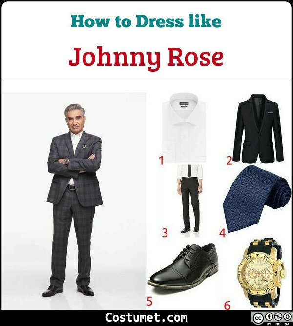 Johnny Rose Costume for Cosplay & Halloween