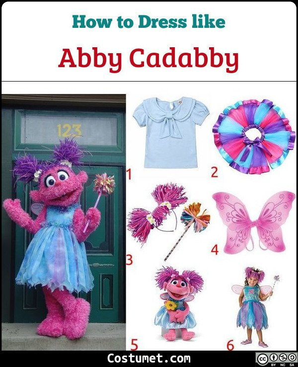 Abby Cadabby Costume for Cosplay & Halloween