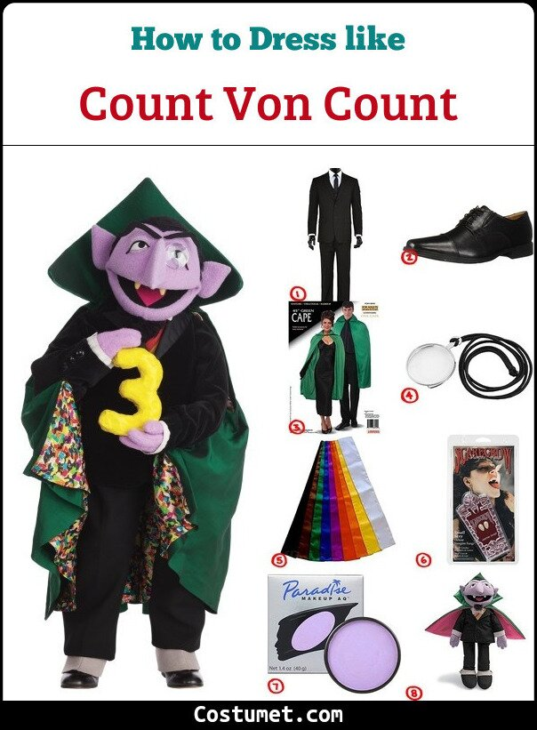 Count Von Count Cosplay & Costume Guide