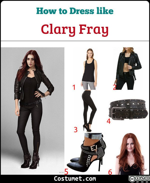 Shadowhunters Costume for Cosplay & Halloween