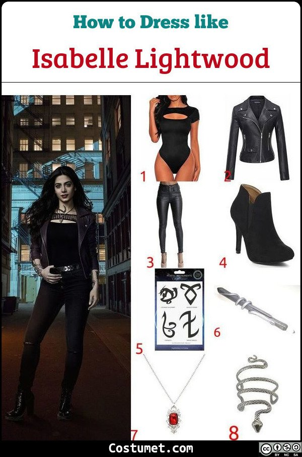 Isabelle Shadowhunters Costume for Cosplay & Halloween
