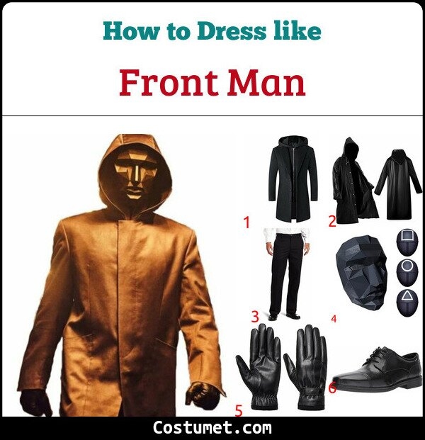 Front Man Costume for Cosplay & Halloween