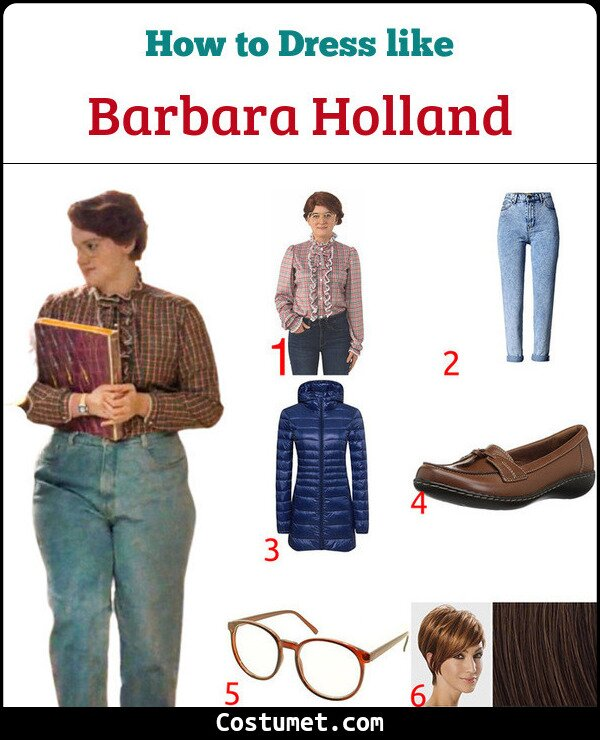 Barbara Holland Costume for Cosplay & Halloween