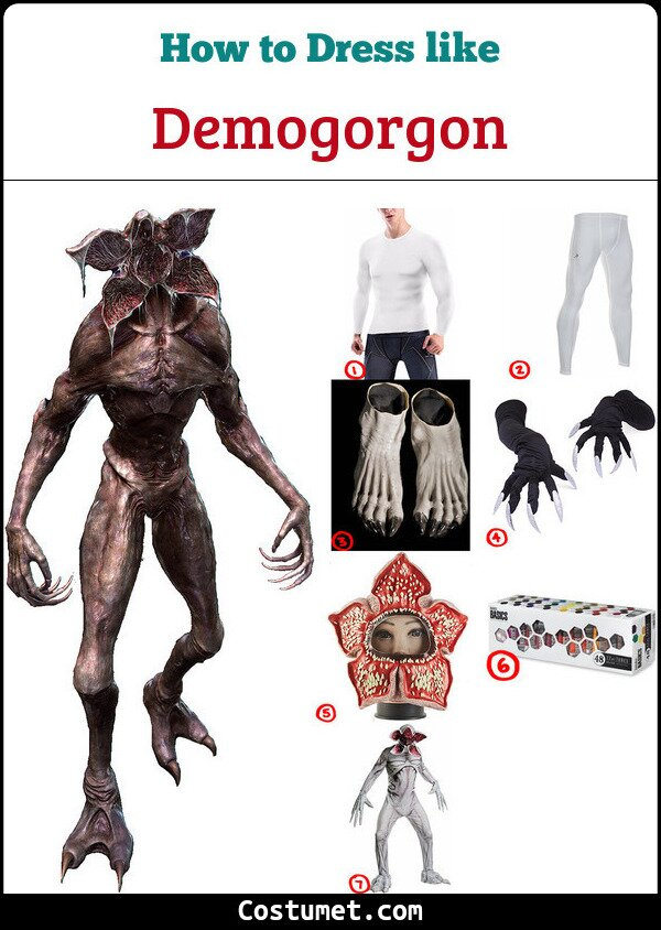 Demogorgon Costume for Cosplay & Halloween
