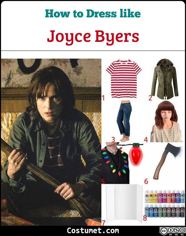Joyce Byers Costume for Cosplay & Halloween