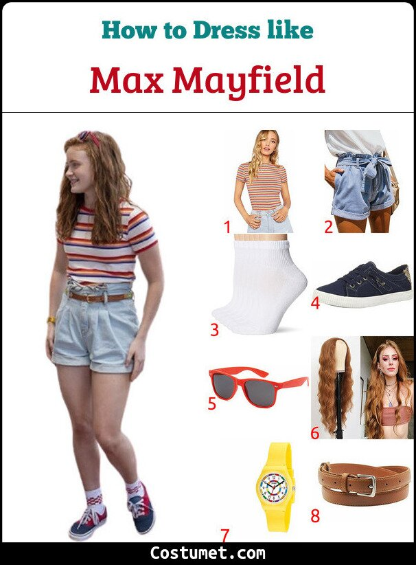 Max Mayfield Costume for Cosplay & Halloween