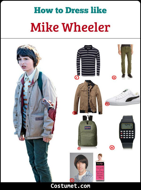 Mike Wheeler Costume for Cosplay & Halloween