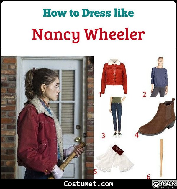 Nancy Wheeler Costume for Cosplay & Halloween