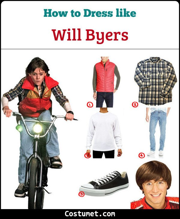 Will Byers Costume for Cosplay & Halloween