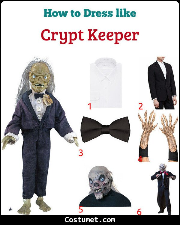Crypt Keeper Costume for Cosplay & Halloween