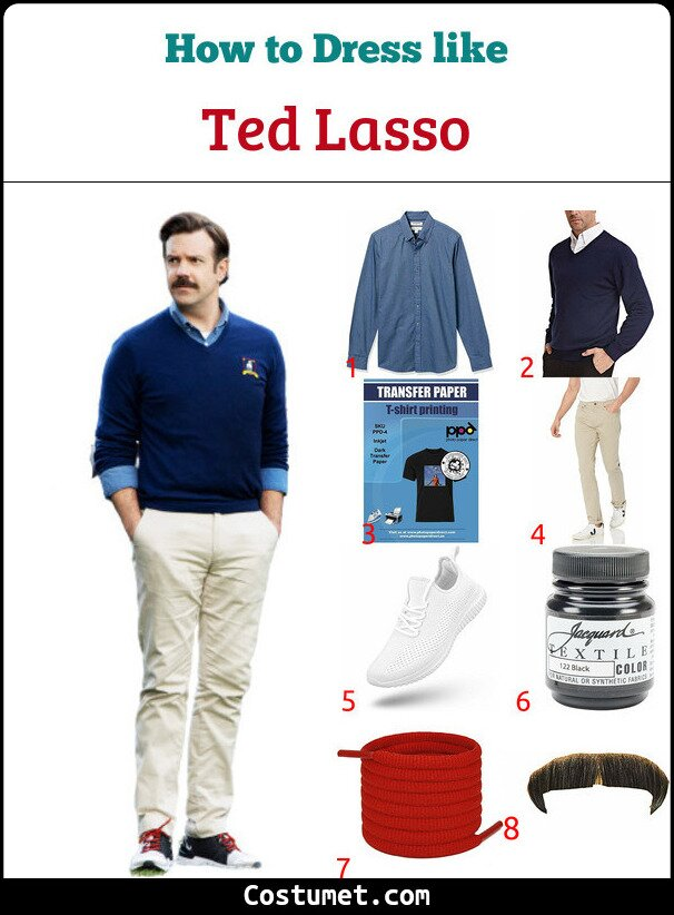 Ted Lasso Costume for Cosplay & Halloween