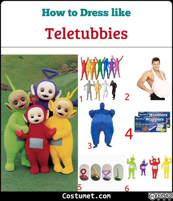 Teletubbies Costume for Cosplay & Halloween