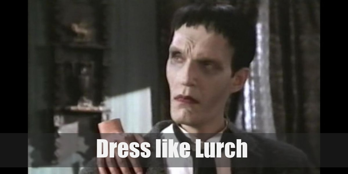 Dress Like Lurch Costume For Cosplay Halloween