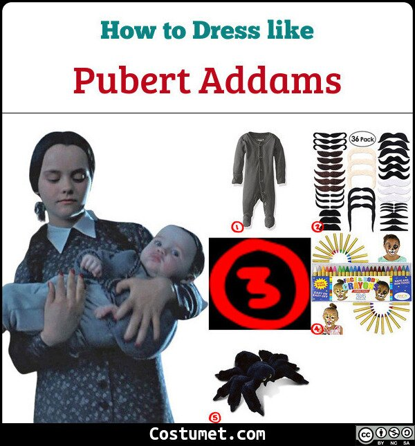 Pubert Addams Cosplay & Costume Guide