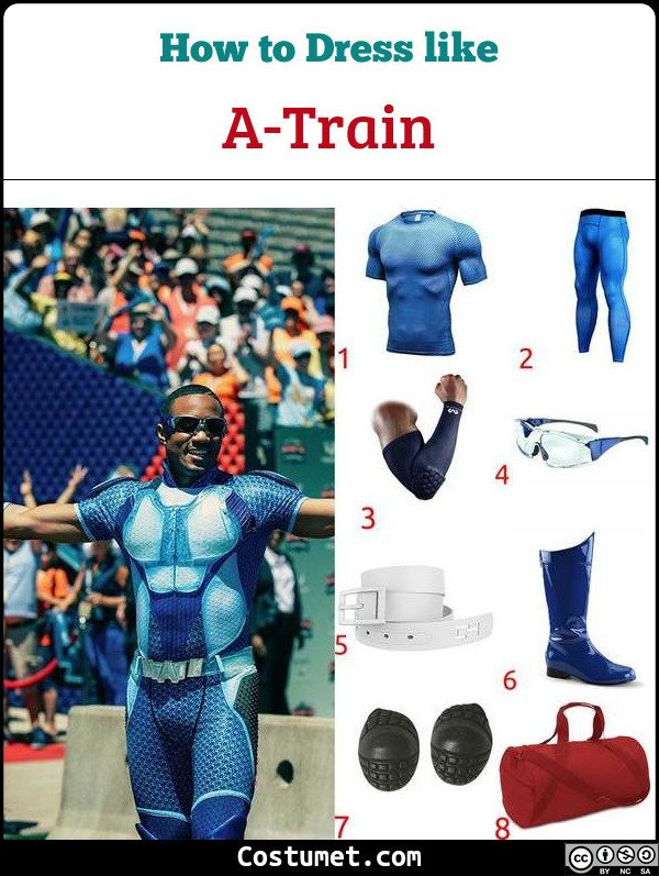 A Train Costume for Cosplay & Halloween