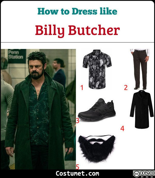 Billy Butcher Costume for Cosplay & Halloween