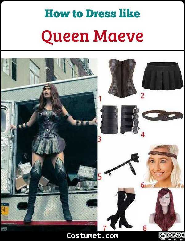 Queen Maeve Costume for Cosplay & Halloween