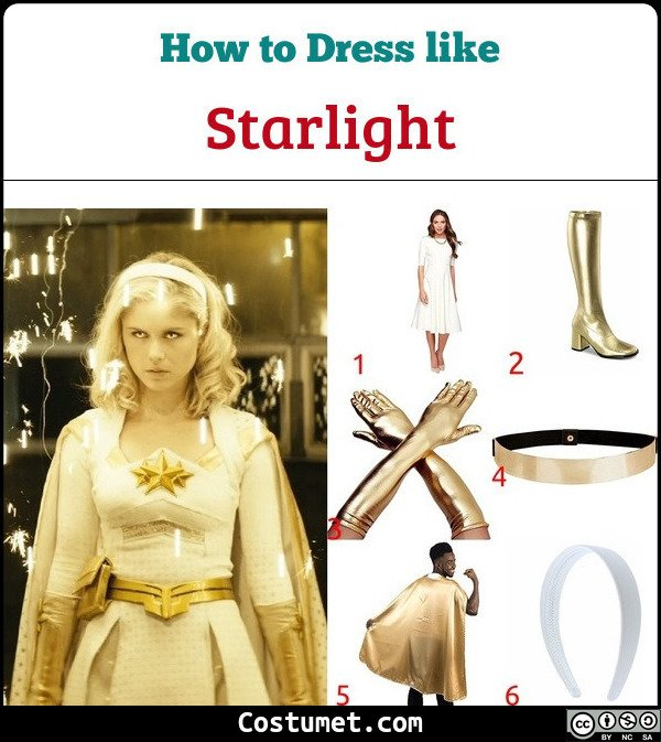 Starlight Costume for Cosplay & Halloween