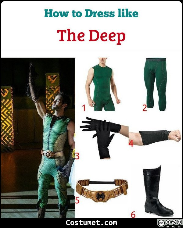 The Deep Costume for Cosplay & Halloween