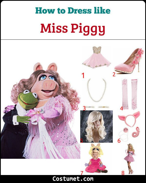 Miss Piggy And Kermit Cosplay & Costume Guide