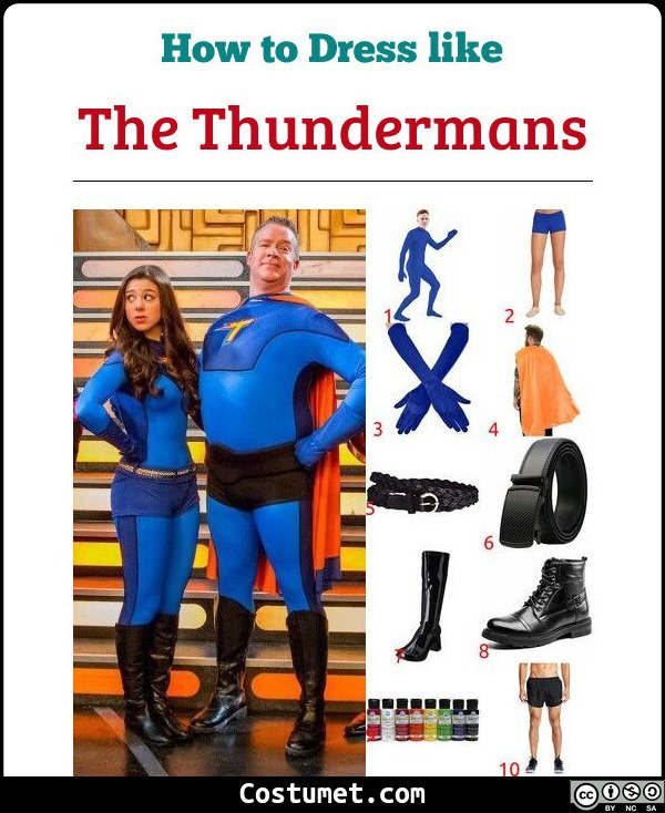 The Thundermans Costume for Cosplay & Halloween