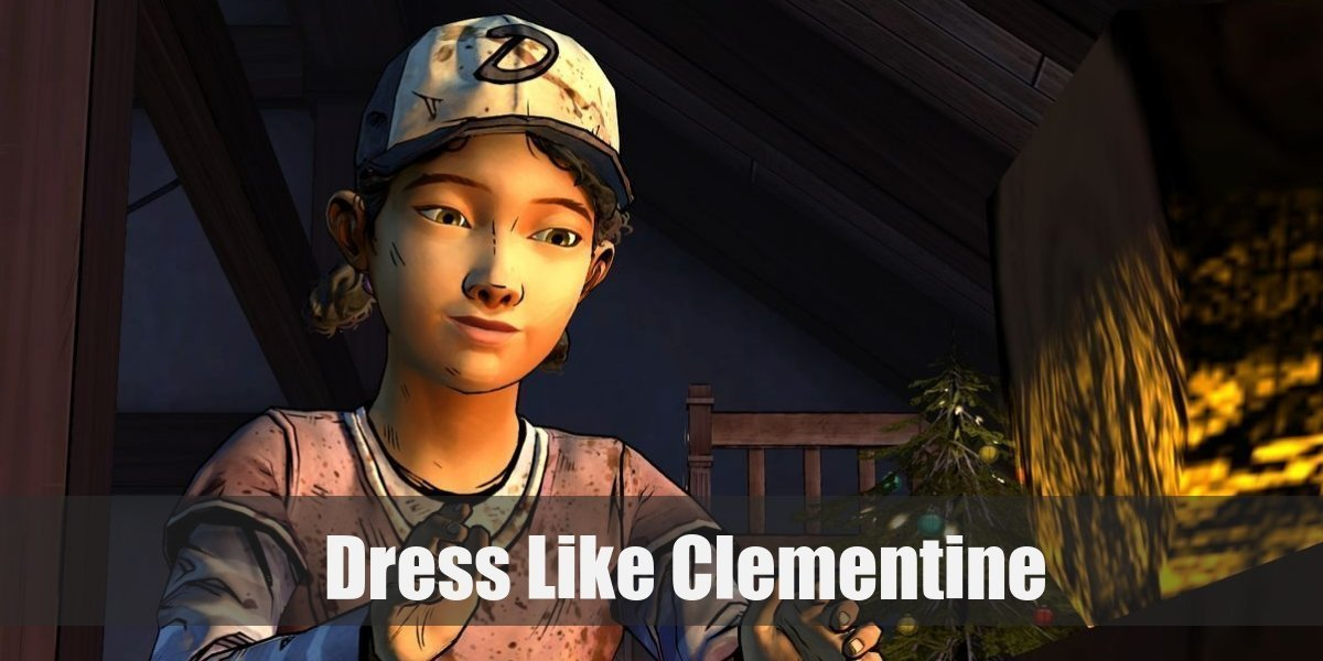 Clementine From The Walking Dead Costume For Cosplay Halloween