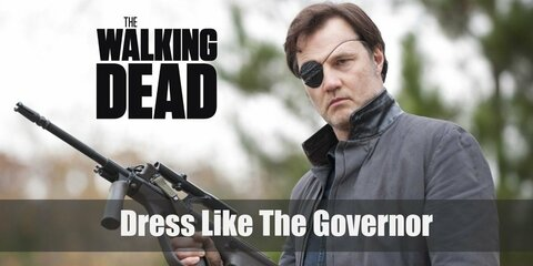 One of the best-dressed antagonists in the series, The Governor wears a dark-colored ensemble that perfectly mimics his personality. Here is everything you need to look like The Governor