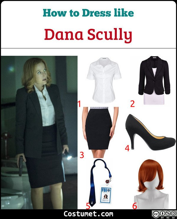 The X Files Costume for Cosplay & Halloween