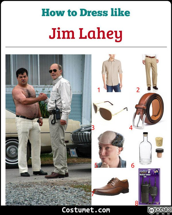 Jim Lahey Costume for Cosplay & Halloween