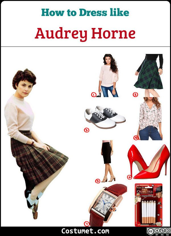 Audrey Horne Costume for Cosplay & Halloween