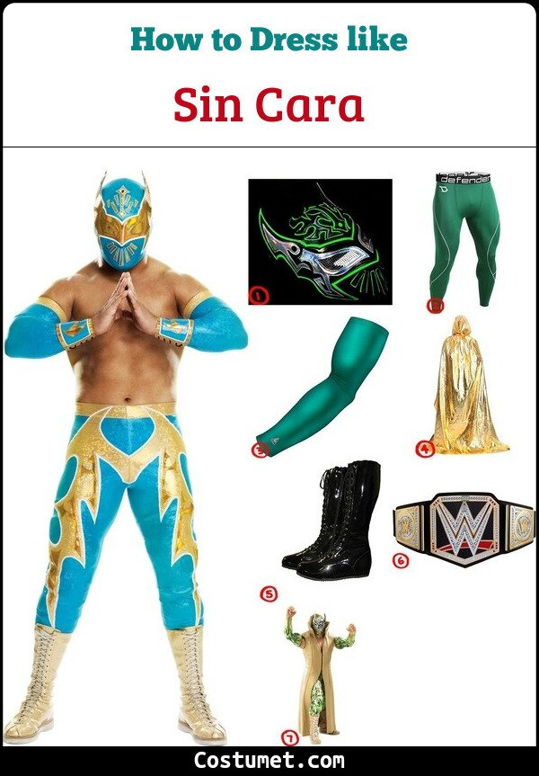 Sin Cara Cosplay & Costume Guide